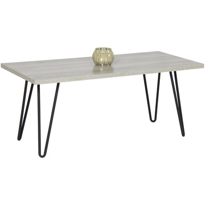 Best Choice Products Coffee Table W/ Metal Hairpin Legs
