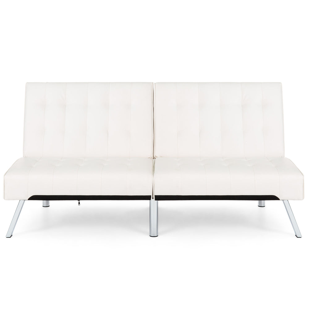 futon futons guide metal leather detailed black different couch of buying types