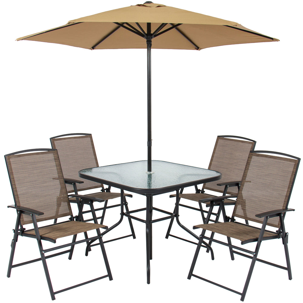best decors stylish sathoud patio table long folding