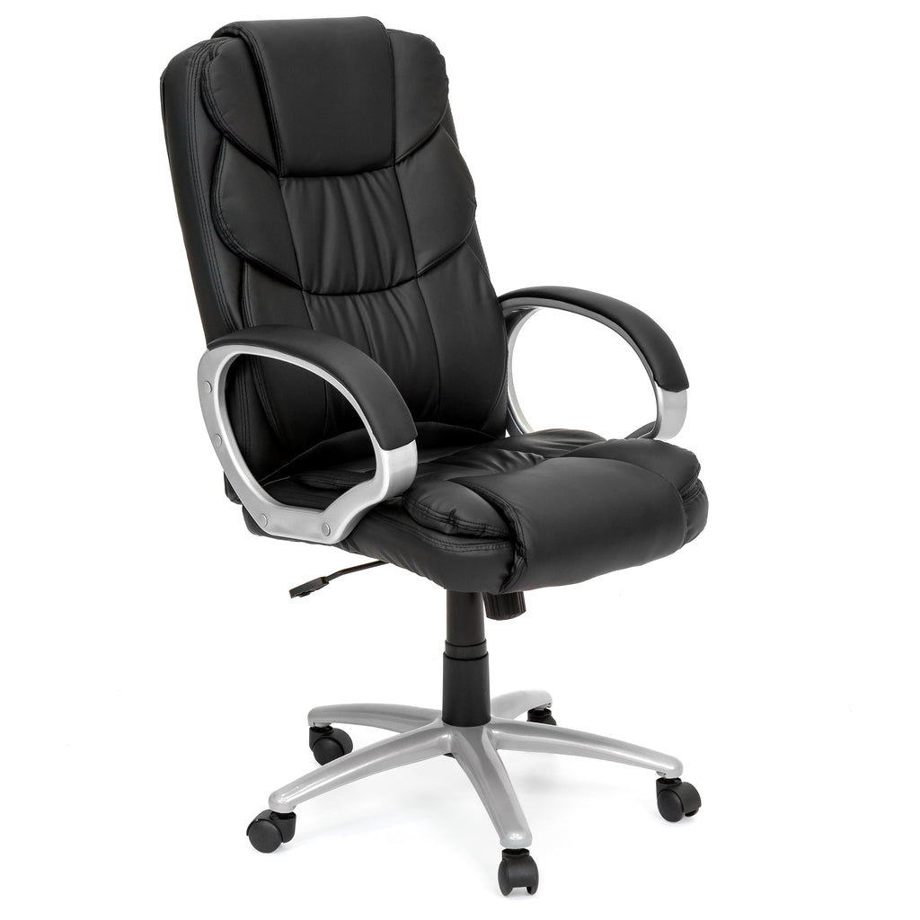 Ergonomic High Back Executive Office Chair Black Best