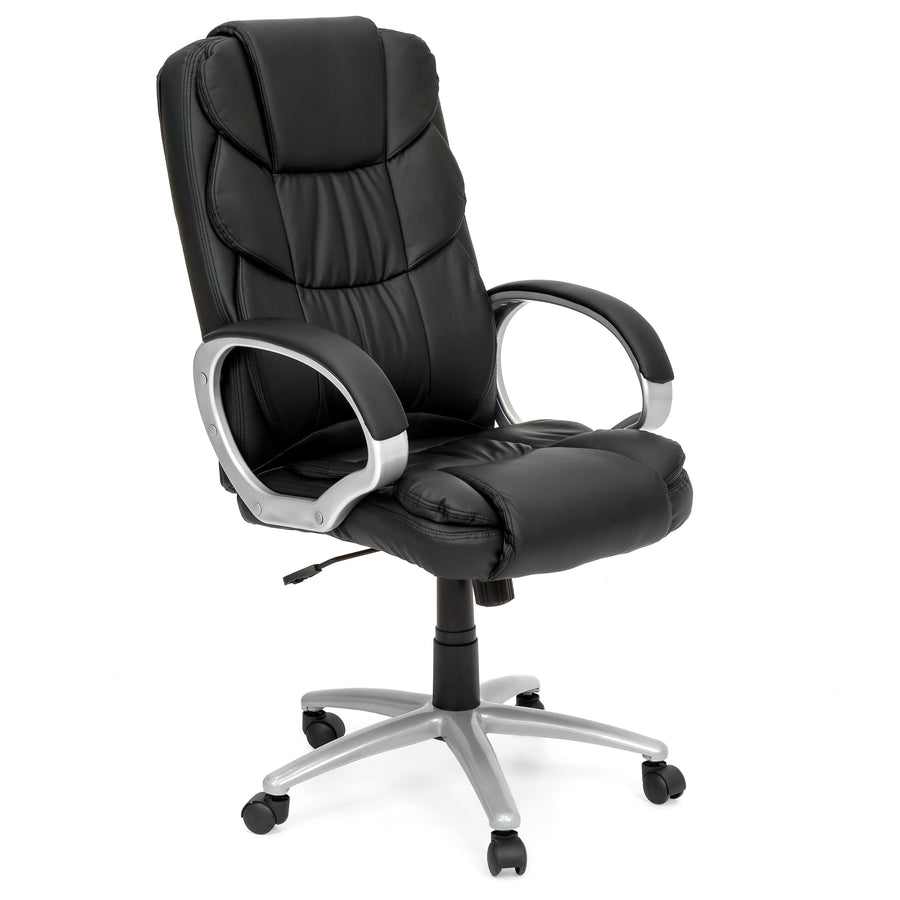Ergonomic High Back Executive Office Chair - Black