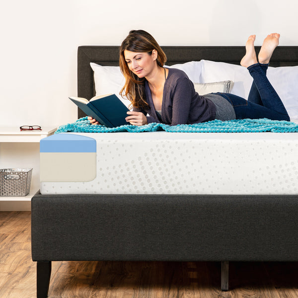 10in Dual Layered Mattress w/ Gel Memory Foam