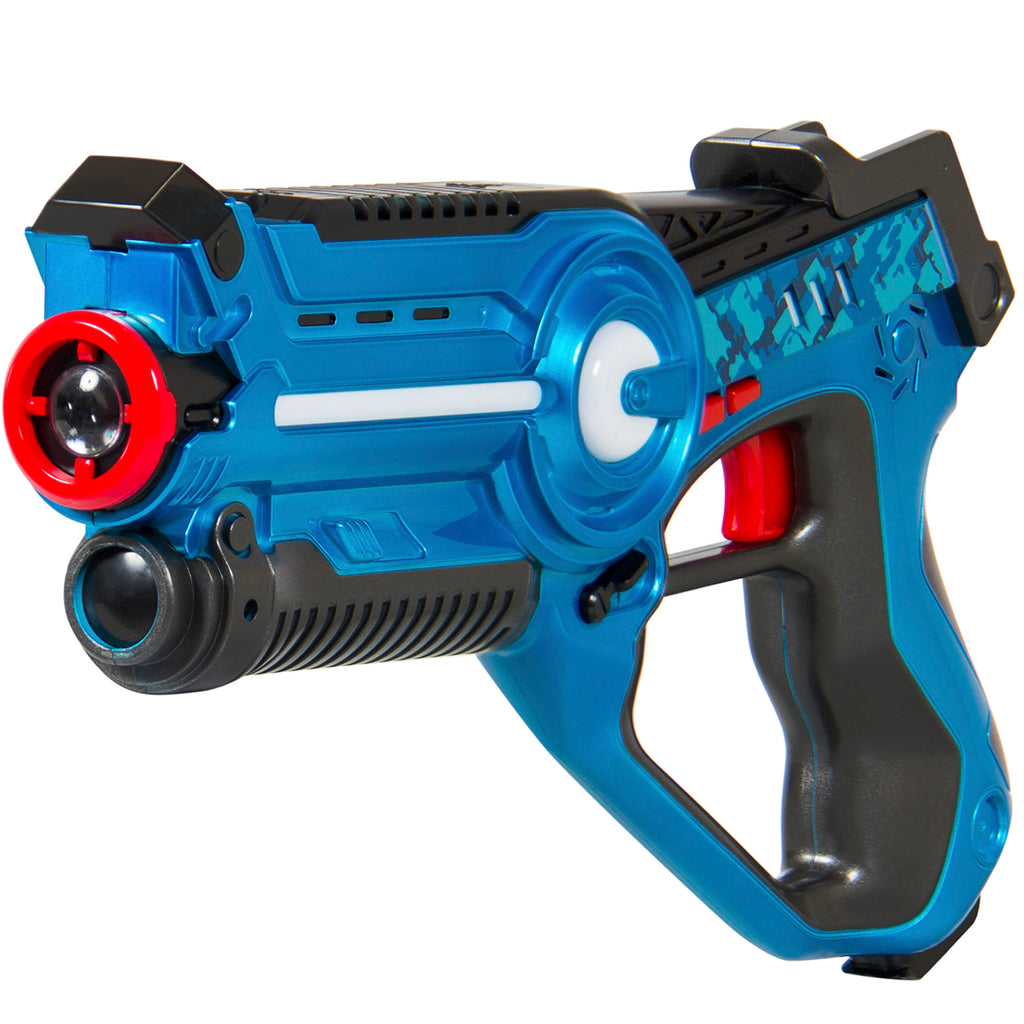 Set of 4 Infrared Laser Tag Blasters for Kids & Adults w/ 4 Settings