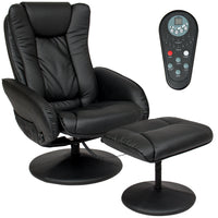Deals on BCP Faux Leather Electric Massage Recliner Chair w/Ottoman