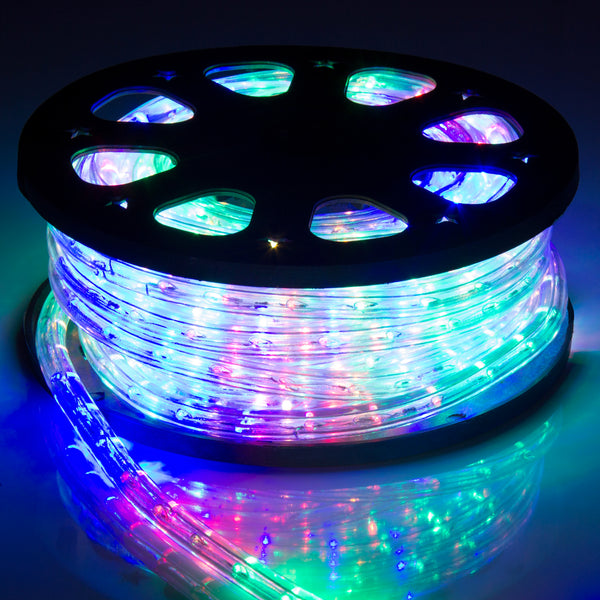 50ft LED Rope Lights - Rainbow