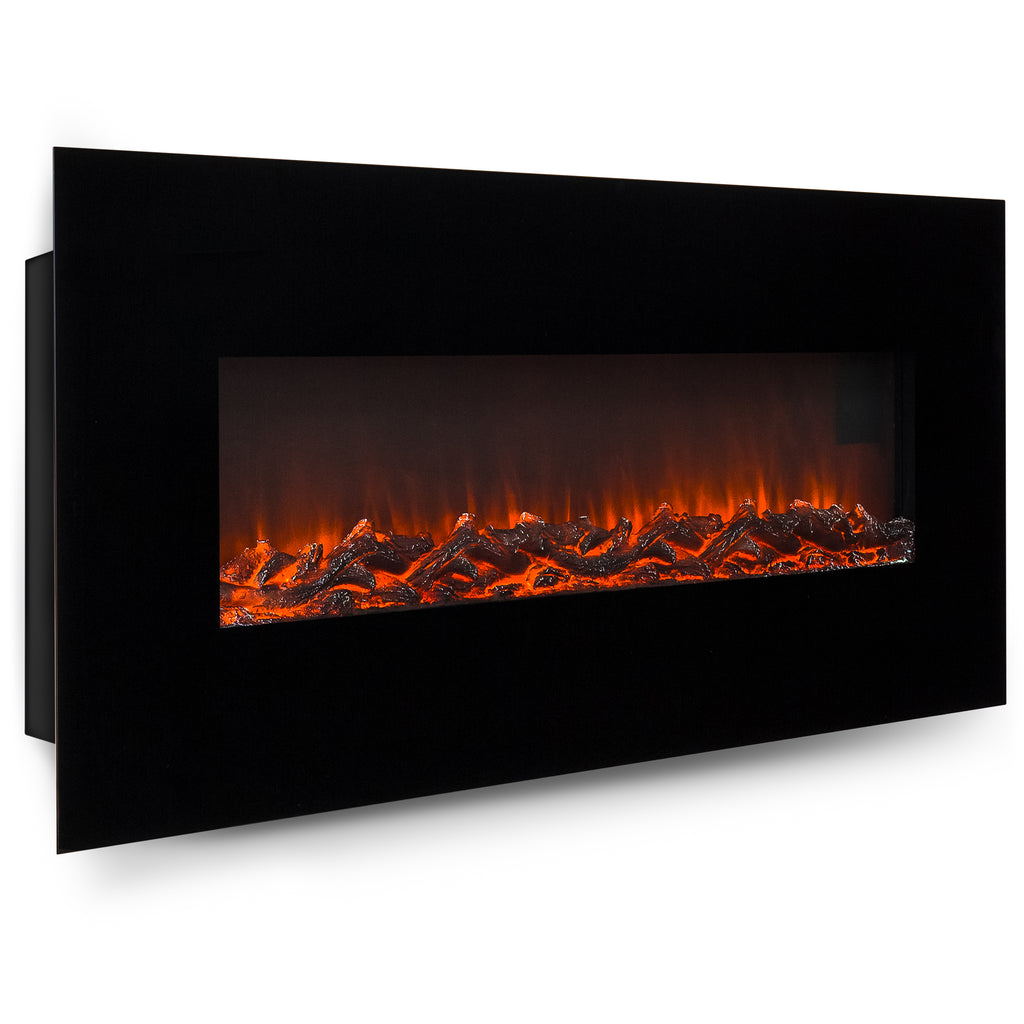50 quot  wall mount electric fireplace heater best choice