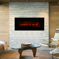 "50"" Wall Mount Electric Fireplace Heater"
