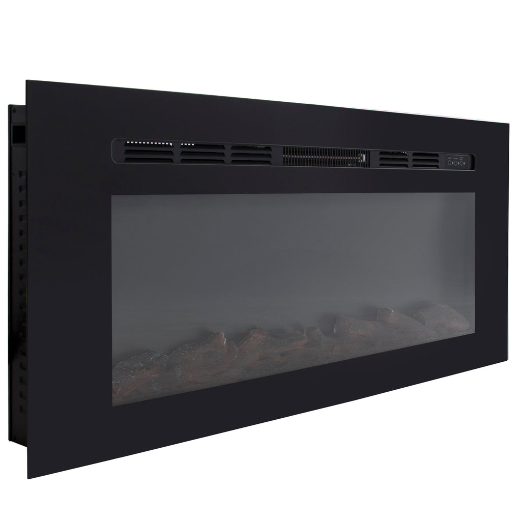 1500W 50in In-Wall Electric Fireplace Heater