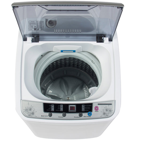 Best Choice Products Portable Compact Automatic Washing Machine Spin Cycle W/ Drain Pipe
