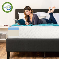 Deals on BCP 10in Dual Layered Mattress w/ Gel Memory Foam Twin