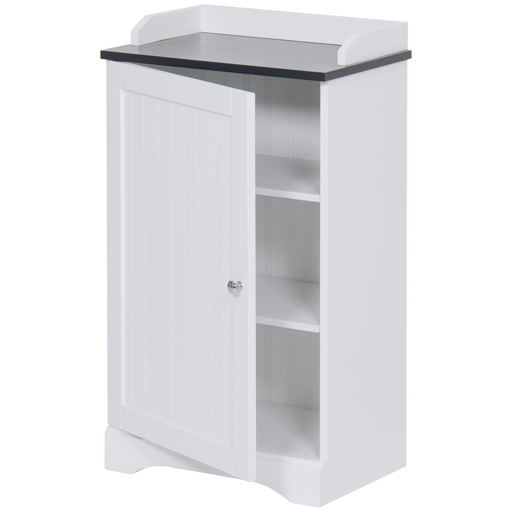 Bathroom Floor Storage Cabinet. Bathroom Floor Storage Cabinet W Versatile Door White