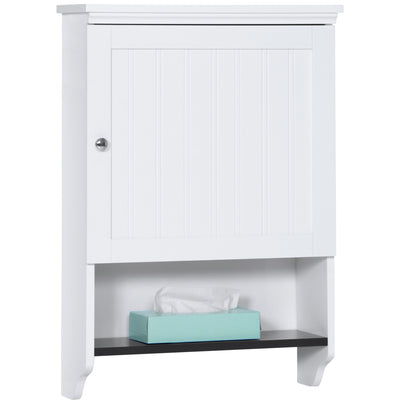 Best Choice Products Bathroom Wall Cabinet Storage- White