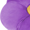 Best Choice Products Kids Large Flower Floor Pillow For Bedroom, Reading Nook, Play Area - Purple/Yellow