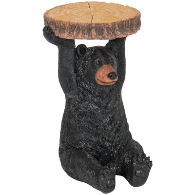 Best Choice Products Decorative Bear Pedestal Patio Side Table Outdoor/Indoor