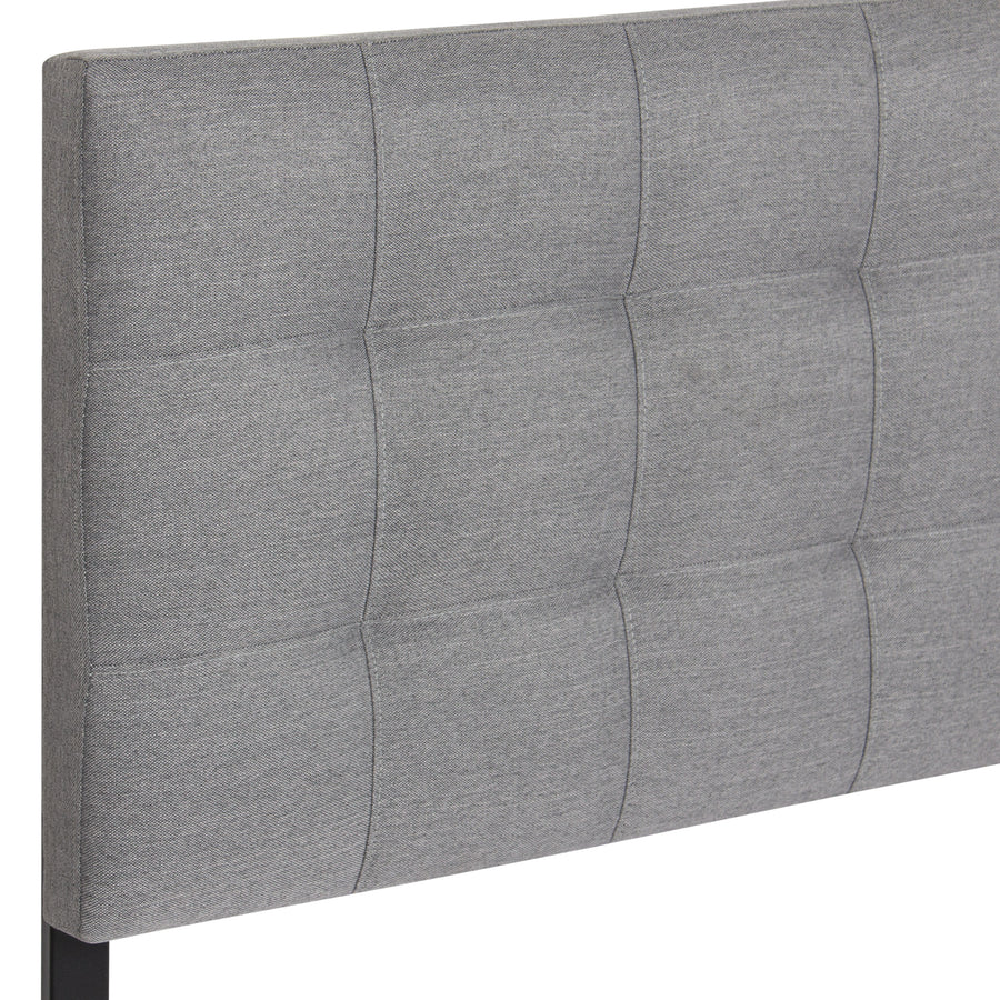 Tufted Fabric Queen Headboard