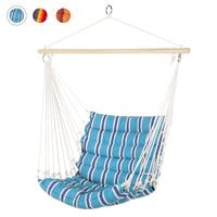 Deals on BCP Padded Indoor/Outdoor Cotton Hammock Chair