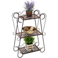 Deals on Best Choice Products 3-Shelf Plant Stand