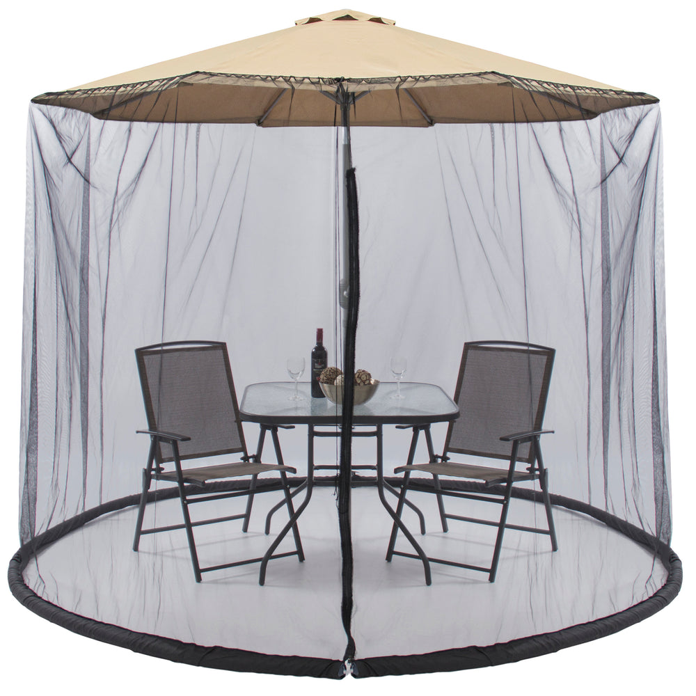 BCP Bug Net Screen Accessory for 9-ft Patio Umbrella