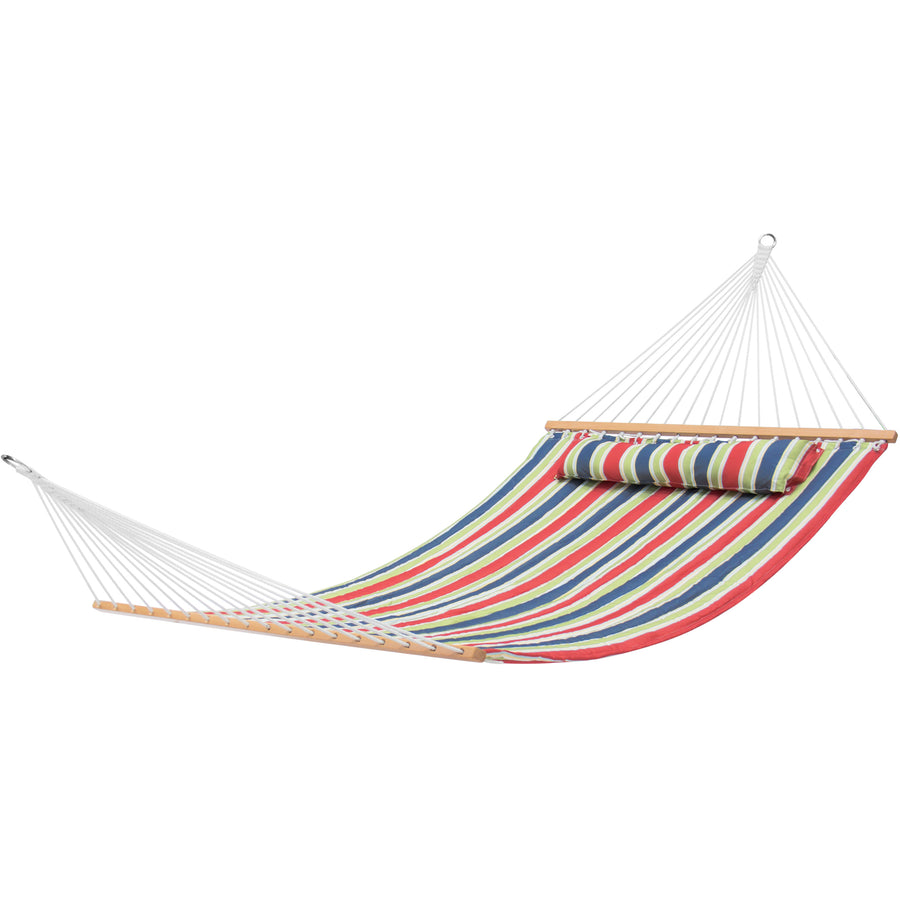 Quilted Double Hammock w/ Detachable Pillow