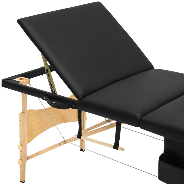 best choice products portable 84 tri folding massage