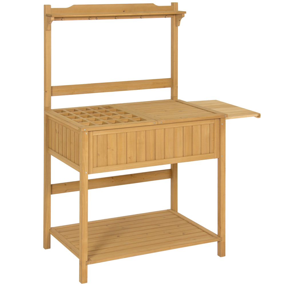 potting bench garden introduction large id recycled