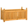 28in Rectangular Wooden Planter