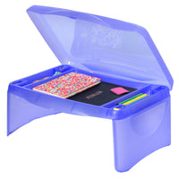 Best Choice Products Kids Foldable Lap Desk w/ Storage Deals
