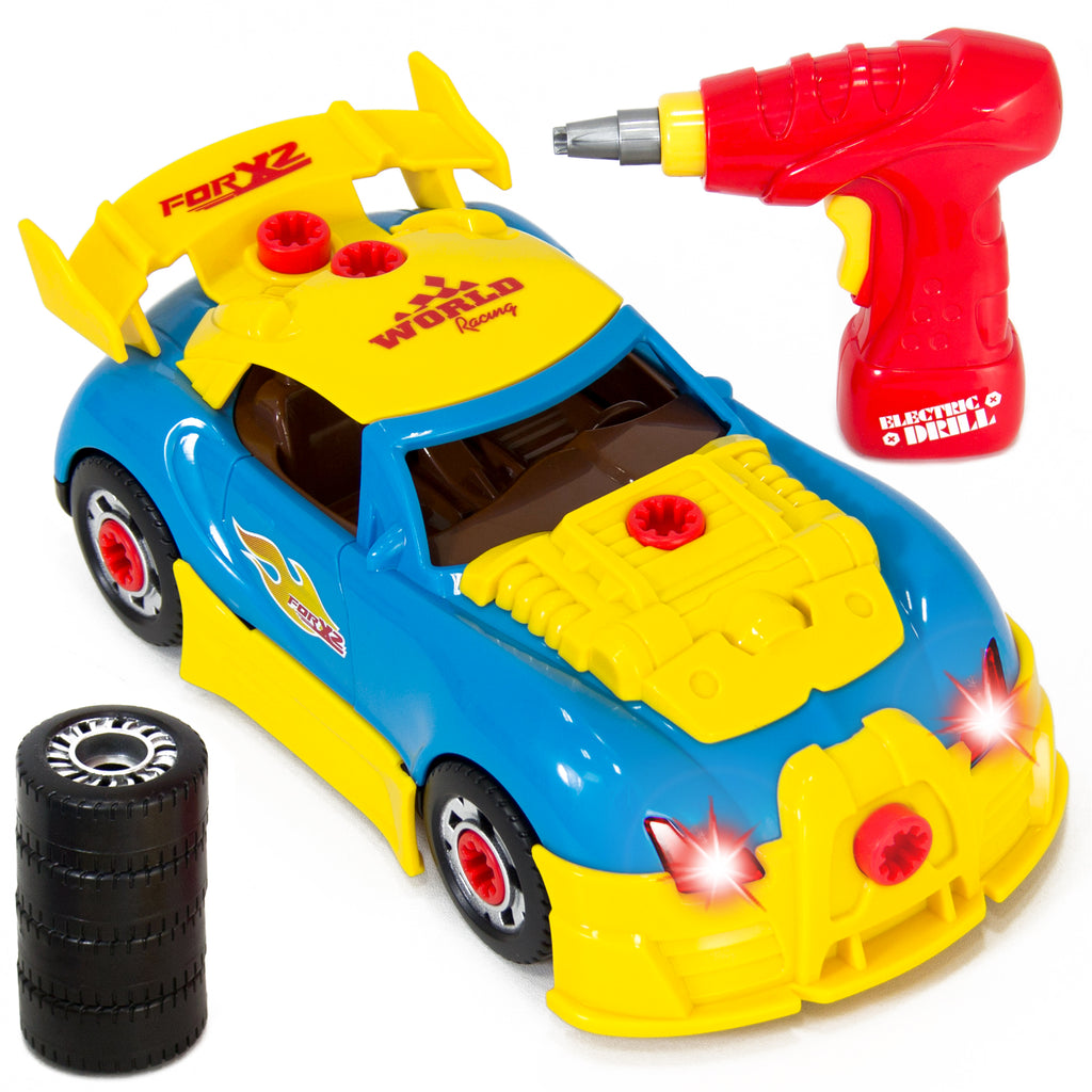 Car Toys Product : Best choice products kids piece assembly take a part
