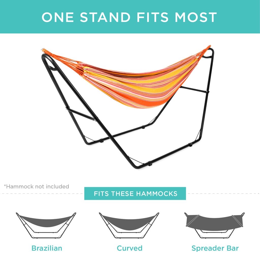 Adjustable Hammock Stand for Hammocks 9 to 14ft Long