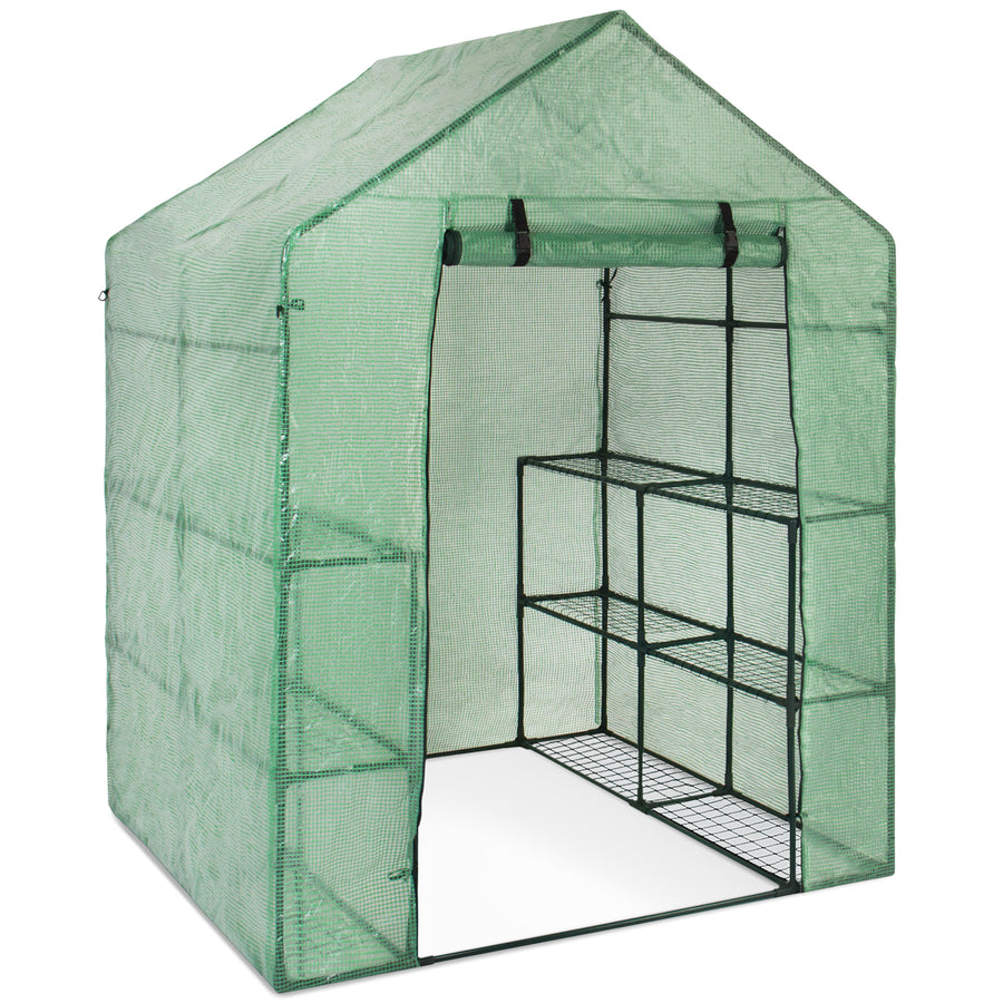 Charmant 3 Tier 8 Shelf Outdoor Mini Greenhouse