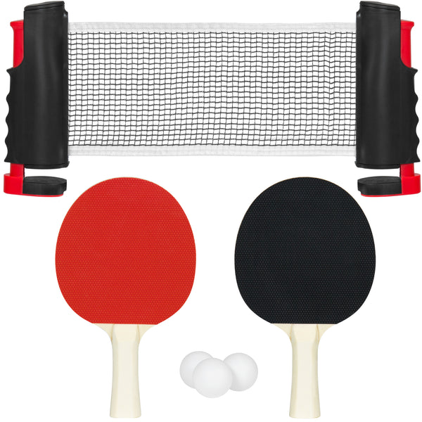 Portable Ping Pong Set - Multicolor