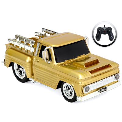 Remote Control Muscle Pickup Truck (Gold)