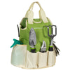9-Piece Gardening Tool Set - Green