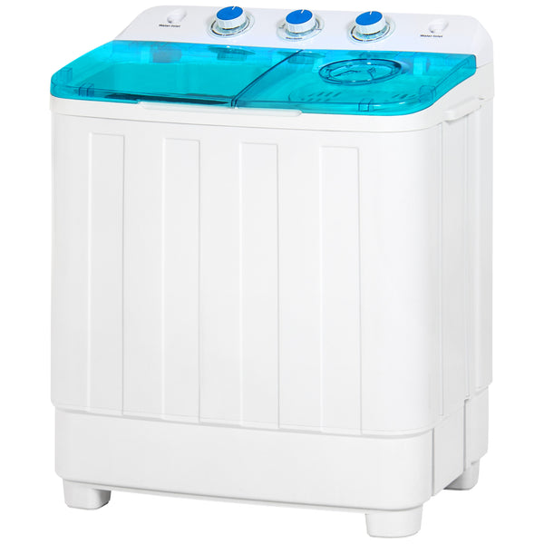 best choice products portable compact mini tub washing machine and spin cycle dryer w hose