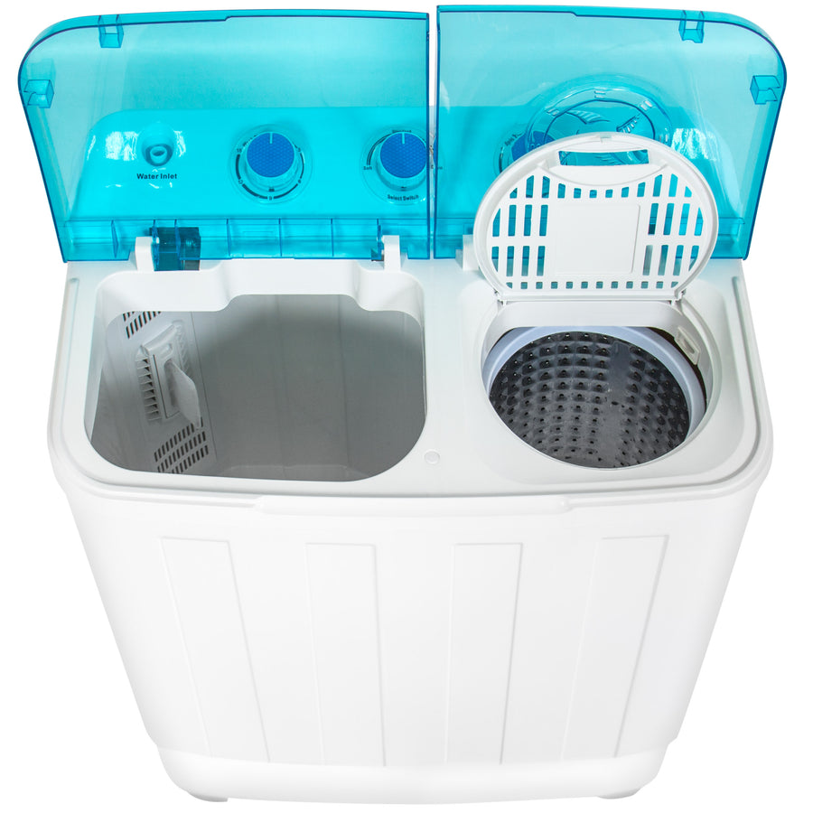 Portable Mini Washing Machine w/ Spin Dry Cycle