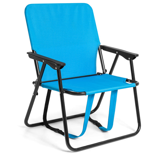 Backpack Folding Chair (Blue)