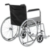 24in Folding Wheelchair w/ Swing-Away Footrest