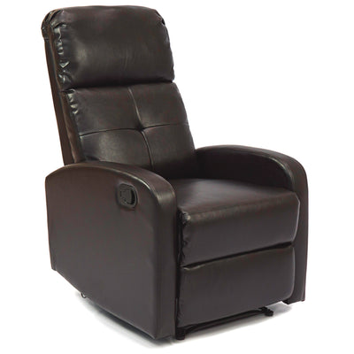 Home Theater Recliner Chair (Ebony Brown)