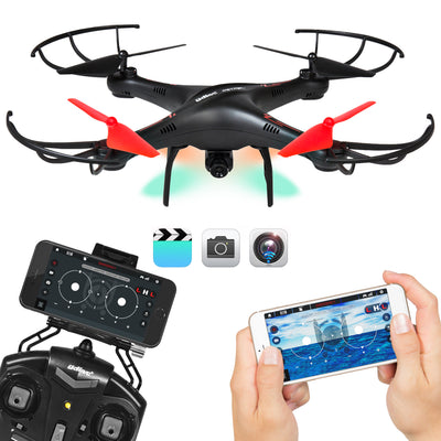 Best Choice Products Smart Phone Control 6-Axis 720P HD Camera Drone Quadcopter W/ FPV, Wifi, Altitude Hold, Flight Plan