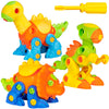 106-Piece Set Of 3 Take-Apart Dinosaur w/ Tools