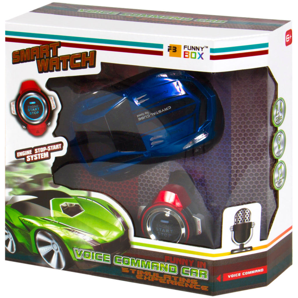 best choice products kids voice command rc car remote smart watch blu
