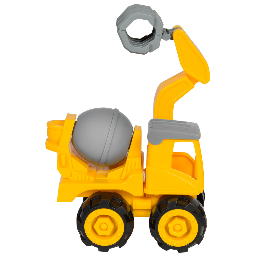 best choice products kids assembly take a part excavator crane toy con