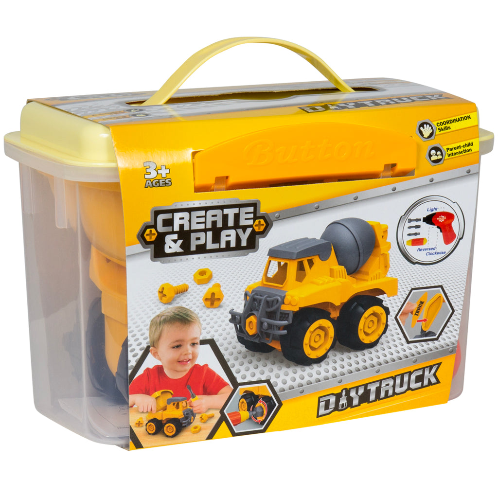 best choice products assembly take a part dump truck vehicle toy const