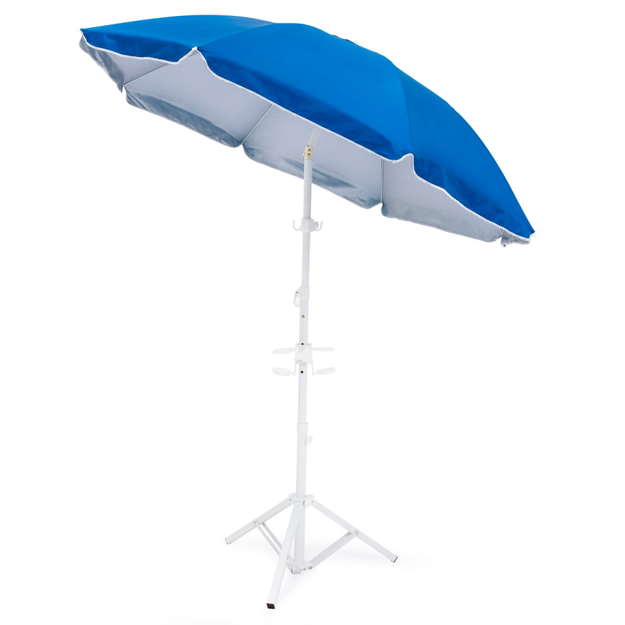 5.5ft Beach Umbrella w/ Carrying Case
