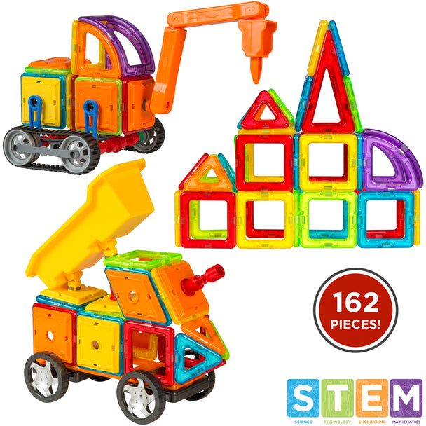 Best Magnetic Toys For Kids : Best choice products kids pc multi color magnetic