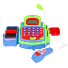 Best Choice Products Educational Kids Pretend Toy Cash Register w/ Working Scanner, Mic, And Calculator
