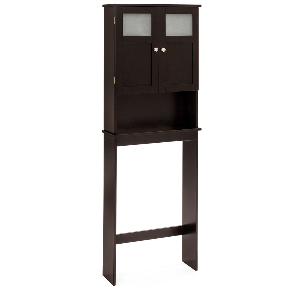 Over-the-Toilet Bathroom Storage Cabinet - Espresso – Best Choice ...