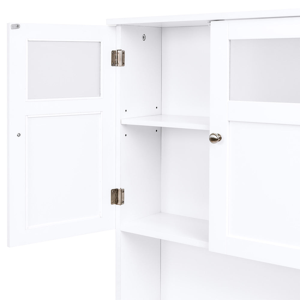 Over-the-Toilet Bathroom Storage Cabinet - White – Best Choice Products