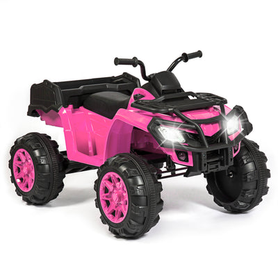 12V Kids ATV Quad (Pink)