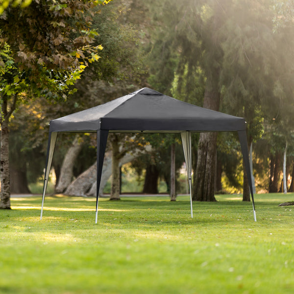 10x10ft Portable Pop Up Canopy - Black